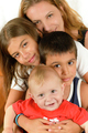 Happy Family enjoying togetherness