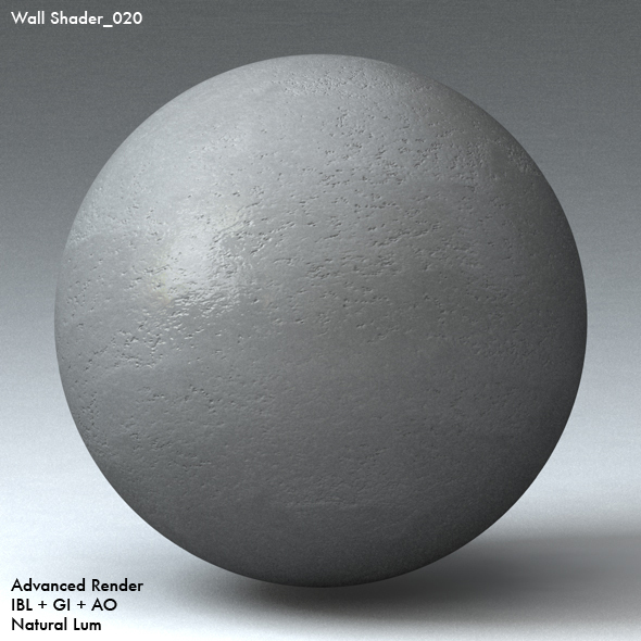 Wall Shader_020 - 3DOcean Item for Sale