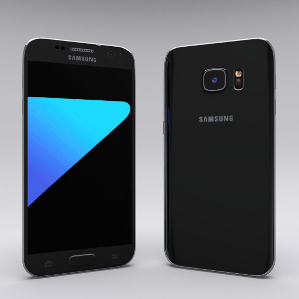 Samsung Galaxy S7 White - 3DOcean Item for Sale