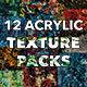 12 Acrylic Texture Packs