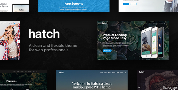 Download Hatch - MultiPurpose WordPress Theme nulled download