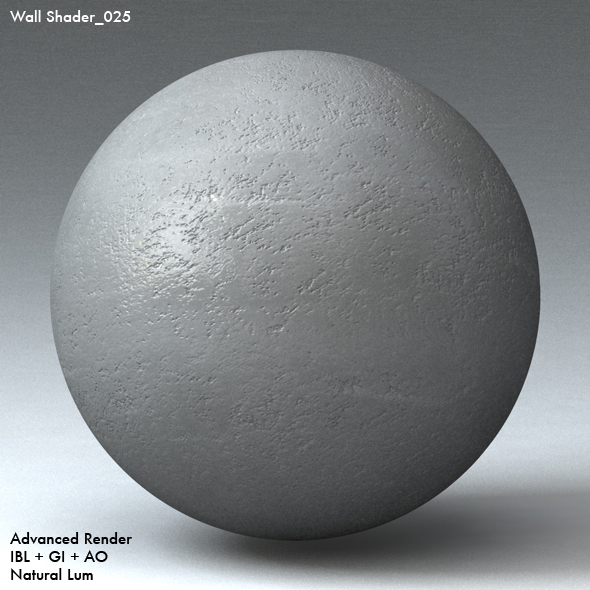 Wall Shader_025 - 3DOcean Item for Sale