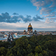 Saint Isaac's Cathedral And Voznesensky Prospect