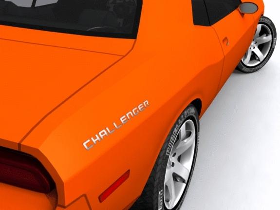3DOcean Dodge Challenger 1516759