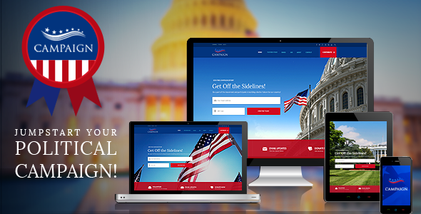 19 - Campaign - Your Political WordPress Theme