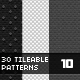 30Patterns For Web & Interfaces (PSD+PNG+.PAT) #10 - GraphicRiver Item for Sale