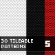 30Patterns For Web & Interfaces (PSD+PNG+.PAT) #05 - GraphicRiver Item for Sale