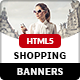 Modern Shopping Banners - HTML5 Animated