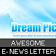 awesome e-news letter paper background - GraphicRiver Item for Sale