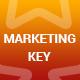 Marketing Key PowerPoint Presentation Template