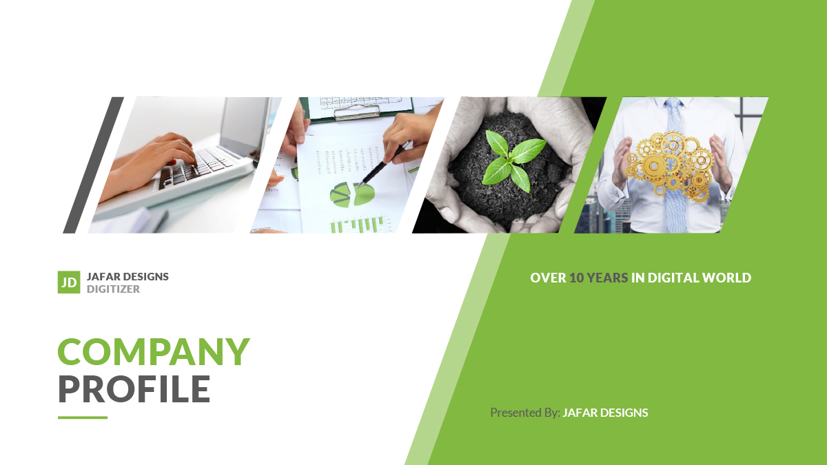 Company Profile PowerPoint Template by JafarDesigns – Corporate Profile Template