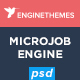 MicrojobEngine - Micro Job Marketplace PSD Template