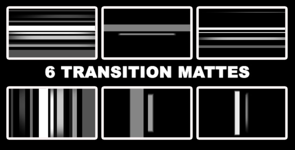 VideoHive Smooth Transition Mattes 179449