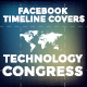 Facebook Timeline Covers - Technology Congress