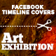 Facebook Timeline Covers - Art exhibition