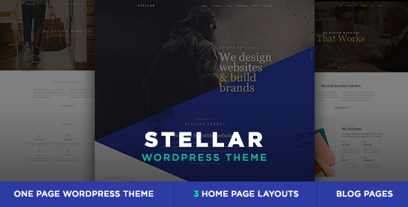 23 - Stellar - One Page Multipurpose Responsive WP Theme