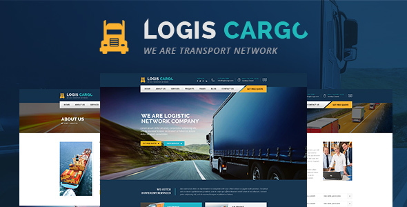 Logis Cargo - Logistics & Transport HTML Template