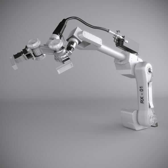 Robotic Arm - 3DOcean Item for Sale
