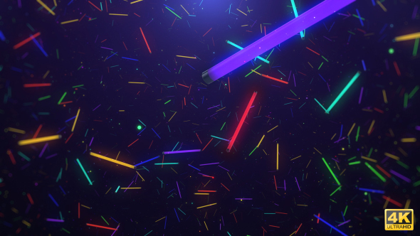 Download Colourful Neon Light Fly Through nulled download