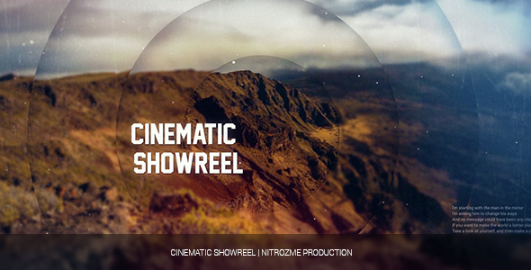 Cinematic Showreel (Abstract)