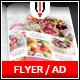 Sweets Shop Flyer / Magazine AD