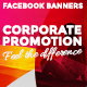 Facebook Banners - Corporate promotions