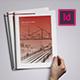 A4 Corporate Architecture Brochure