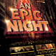 An Epic Night Poster Template