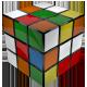 Rubik's Cube Solving Rotating Itself