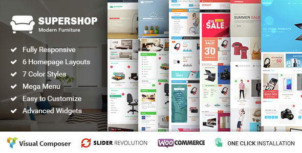 Supershop - Responsive WooCommerce WordPress Theme