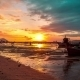 . Sunset In Rawai Beach, Phuket Island, Thailand