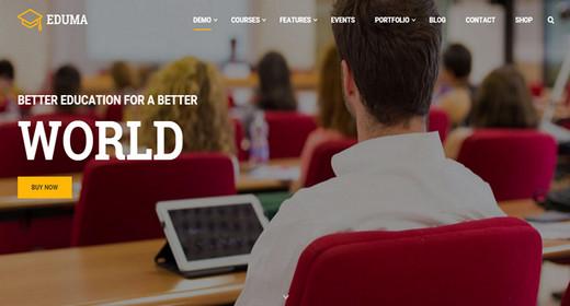 Fantastic WordPress Education Themes
