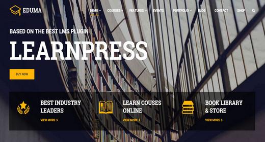 WordPress Themes for Education