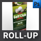 Golf Club Roll-up Template