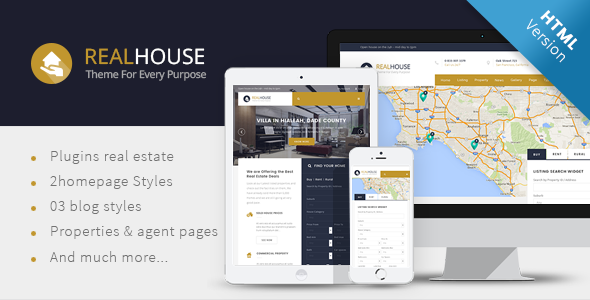 Realhouse - Real Estate HTML5 template
