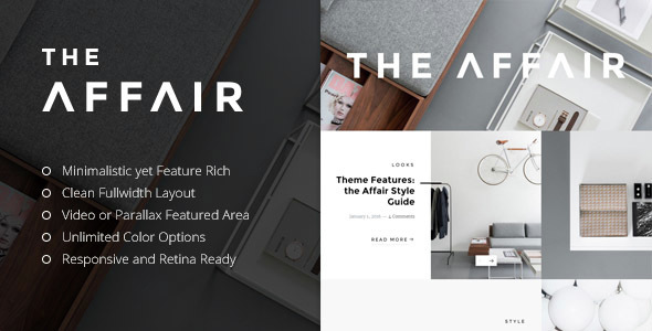 Download The Affair - Creative Theme for Personal Blogs and Magazines