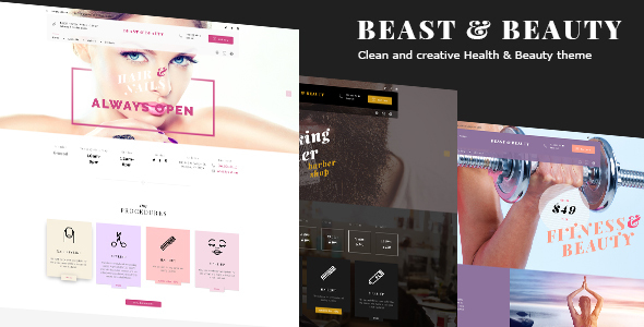 Download BnB - Beauty Salon, Fitness, Barber Shop WP Theme