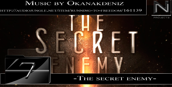 After Effects Project - VideoHive The Secret Enemy 179692