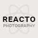 Reacto Photography / WordPress Portfolio Theme for Creatives
