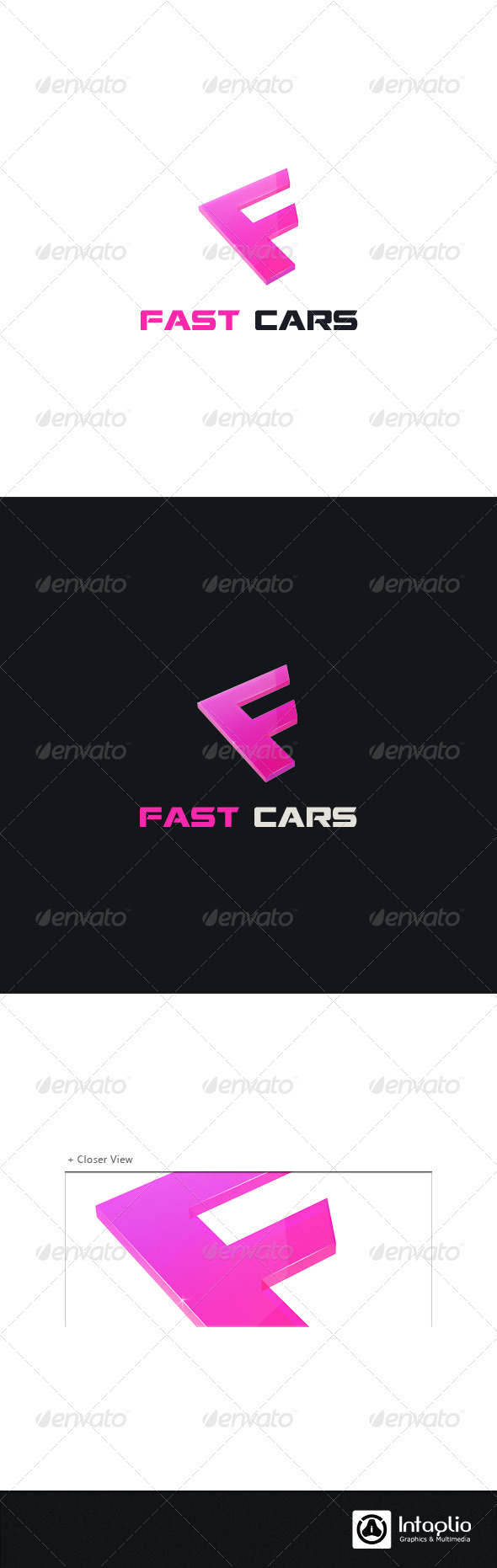 """Letter """"F"""" Logo Template - Letters Logo Templates"""