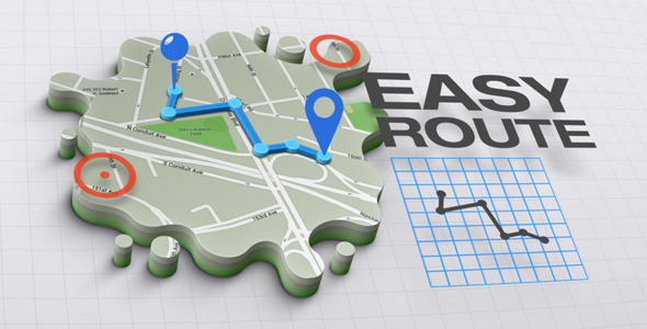3D Maps Creator v1.0.0 Infographics by Accountable-Videos | VideoHive