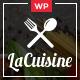 LaCuisine - Restaurant WordPress Theme