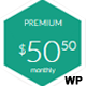 Hexagon WordPress Pricing Table