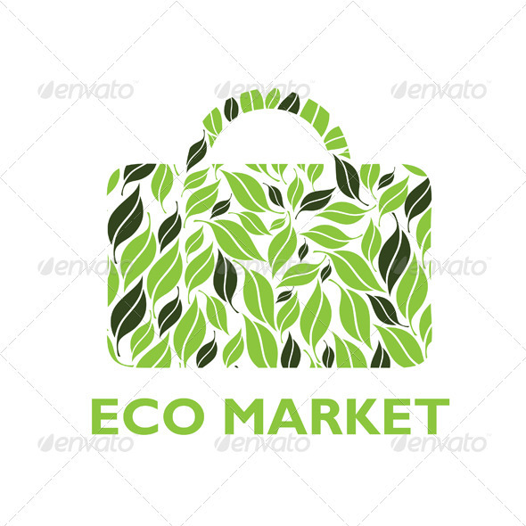 Graphic River Eco Market Logo Logo Templates -  Nature 1520126