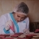 Confectioner Decorates Cakes For Mothers Day