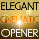 elegant cinematic opener - VideoHive Item for Sale