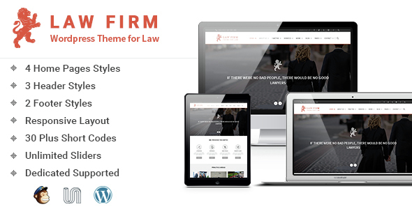 Download Law Firm - WordPress Theme