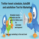 Twitter tweet scheduler  <hr/> AutoDM  and autofollow Tool for Marketing&#8221; height=&#8221;80&#8243; width=&#8221;80&#8243;></a></div> <div class=