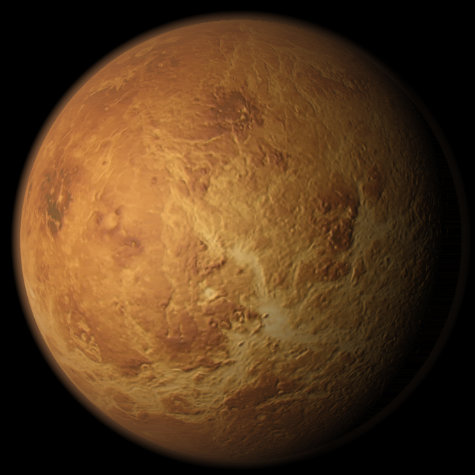 Venus rotating planet - VideoHive Item for Sale
