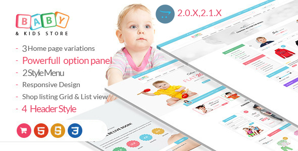 Download BabyStore -Responsive Opencart Theme  nulled download